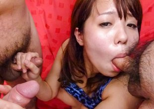 Fabulous Japanese battle-axe Miyu Kaburagi in Incredible JAV uncensored Teen video