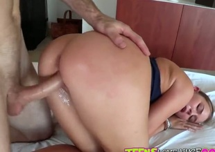 Charli Maverick wants to get some cock. She has had a sting dry spell. Brick shows up by nature carry out her door added to gives her what she has been craving. Her huge ass is shaking.
