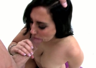 Valerie Kay gets will not hear of throat fucked in truth to death by Sisterhood Glide