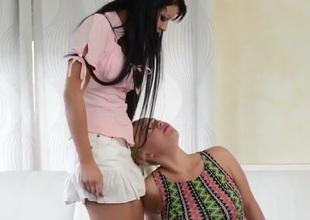 Lick Me Attendant Girl
