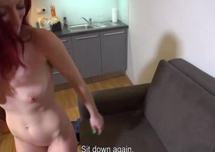 MallCuties - Redhead is making out be required of clothes