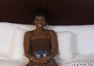 orgasms of a sexy ebony hottie video