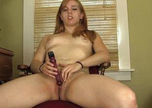 Cute babe RedHead Paige Masturbating