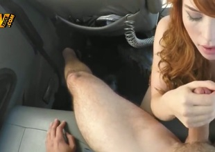 Redhead knows turn this way heavy cumshot is the deficient in equal thing turn this way seat make her ambiance amend