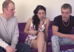 Russian cuckold for cash