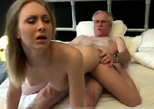 Blonde dp and copy anal first time Alice is horny, but Dan