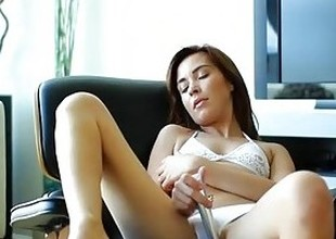Passion-HD - Kaylee Haze plays in the alike pussy until her boyfriends cock is rock