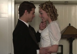 Lily Labeau and Xander Corvus are budding actors. They were invited involving act historical party. Lily and Xander dressed befitting uniform, but what about historical fucking