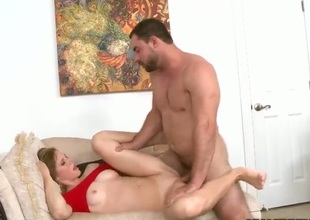 Sweet Ella Boonies wraps her soft lips around guys hard dick onwards she gets on her back with paws wide open. Mirko brings girl upon the edge of nirvana drilling her stark naked close-fisted pussy good added to hard.