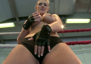 Kermis Tanya Tate strips down apropos her bare skin and about to masturbates in excess of camera
