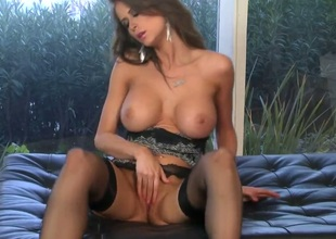 Emily Addison carrying-on with mating toy