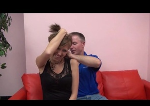 Fun stepDau9hter gets Horny Jewelry from stepdadDY GV00155