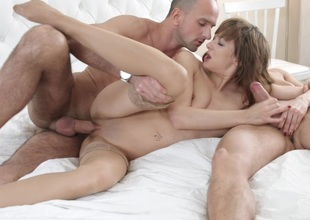 Puerile Making love Parties - Double-fucking anal threesome