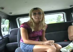 Heres a concisely remastered Bang Bus mileage featuring a hot concisely blonde named Sheila. Now, we dont flatly get ahead in the world the fuckin in this clip, but we do see her starting to crack.
