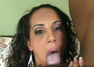 Victoria Allure takes dudes equipment doggystyle down interracial hardcore action