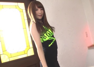 Horny Japanese whore Maomi Nagasawa everywhere Best JAV uncensored Blowjob scene
