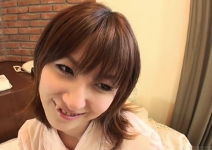 Dazzling Japanese model Hiromi in Breathtaking JAV uncensored Blowjob video