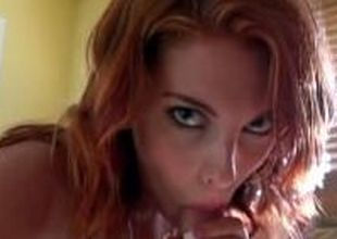 Mofos - Sexy redhead teases the pool boy