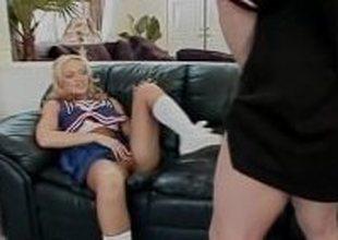 Blonde Monica Participates Just about Great Sex Scene