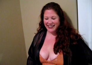 BBW floozy sucks gumshoe plus gets fucked before taking facial cumshot